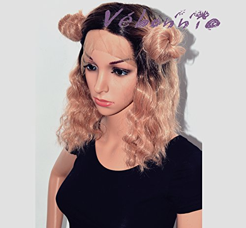 Vbonnie-2017-Wig-Colour-Trend-Wob-Hair-Wavy-Bob-Wig-Classic-Pink-Wigs-for-Women-Synthetic-Hair-Dark-Rooted-Ombre-Baby-Pink-Lace-Front-Wigs-uk-Realistic-Looking-fashion-Wigs-for-Daily-Wearing