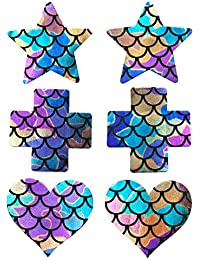 Ypser Nippel Pasties Nippelabdeckung Wegwerfbrustblumenblatt Brustaufkleber Nippel Cover Sticker