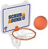 Best US Toy Baby Bath Tubs - The Dunk Collection Scrub-a-Dunk-the Bathtub Basketball Hoop Review