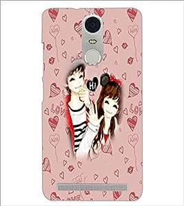 PrintDhaba Couple D-3200 Back Case Cover for LENOVO K5 NOTE (Multi-Coloured)