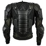 Body Body Armours Moto CE approuvé Moto Poitrine Épaule Retour Garde Protecteur Armures Spine Protection Jacket - - Noir XL