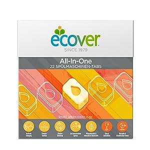Ecover Ökologische Spülmaschinen-Tabs, 1er Pack (1 x 25 Tabs)