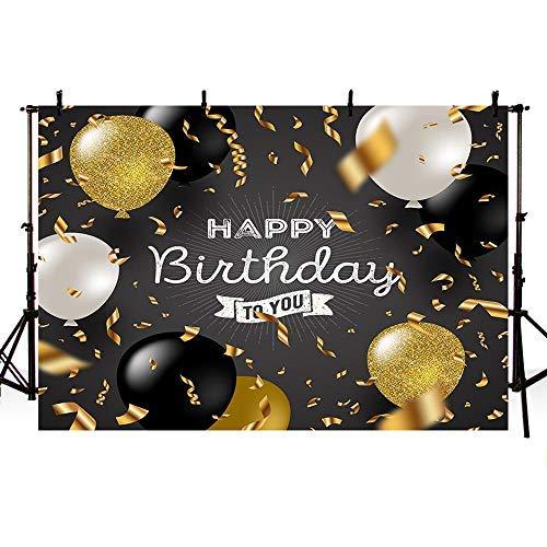 Mehofoto Fotostudio-Hintergrund für Erwachsene, Happy Birthday, Party, Banner Hintergrund für Fotografie