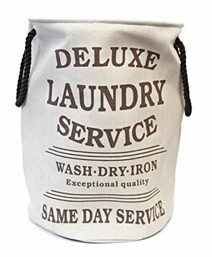 Beige Panther (Bada Bing Wäschesack Wäschekorb Deluxe Laundry Style Vintage (beige) 29240)
