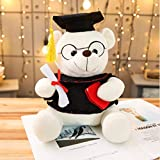 NOWPST Graduazione Dr. Bear Peluche Farcito Peluche Teddy Bear Animal Cute Dolls 35Cm