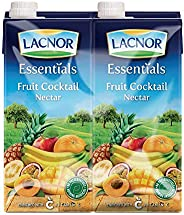 Lacnor Essentials Fruit Cocktail Nectar - 1 Litre (Pack of 4)