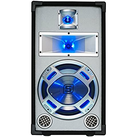 Skytec Par de Altavoces pasivos PA bass reflex 2x400W