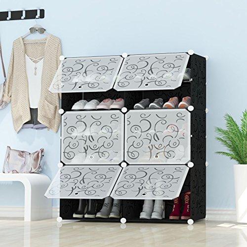 Zapatero de 50 pares de zapatos incre/íble nuevo organizador del armario para ahorrar espacio mws993