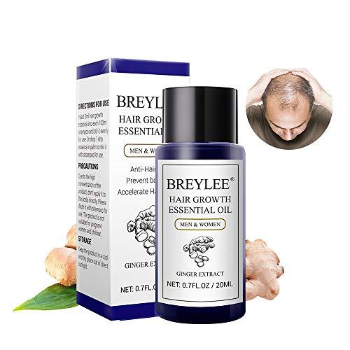 Huile essentielle de croissance des cheveux 20 ml Fast Puissante Soin capillaire Prévient la calvitie Anti-perte de cheveux Sérum nourrissant