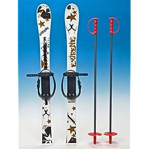 Unbekannt Kinderski Babyski Ski Lernski 90cm 5 Farben für Kinder von rg-vertrieb