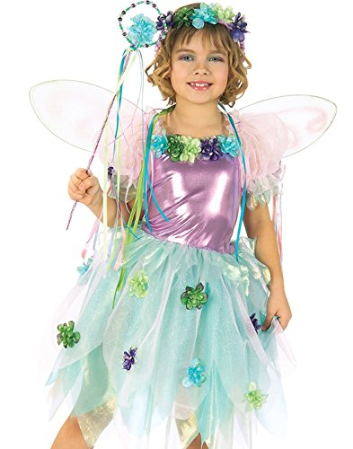 Green Kostüm Garden Fairy - Green Garden Fairy Costume Child Size Small 4-6
