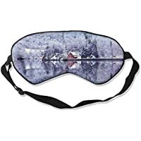 Mountains Winter Red Lakehouse Sleep Eyes Masks - Comfortable Sleeping Mask Eye Cover For Travelling Night Noon... preisvergleich bei billige-tabletten.eu