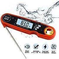 Sonda de termómetro digital plegable IP67 con abrebotellas -50 ° C-300 ° C