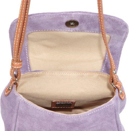 Betty Barclay Alessia A-860 AI 71, Damen Umhängetaschen 16x14x9 cm (B x H x T) Violett (Lilac)