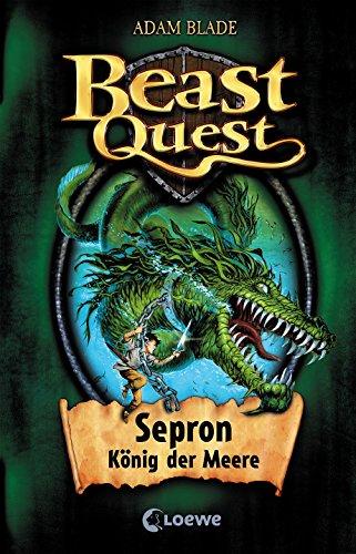 Beast Quest – Sepron, König der Meere: Band 2 (Adams Band)