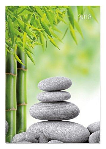 Buchkalender Style Zen 2018 - Bürokalender A5