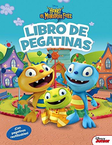 Henry, el monstruo feliz. Libro de pegatinas: ¡Con pegatinas reutilizables! (Disney. Henry, el monstruo feliz) por Disney