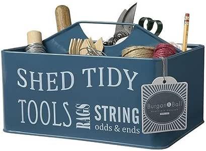 """Werkzeugkiste """"Shed Tidy"""", pulverbeschichtetes Blech, 28 x 20 x 17,5 cm H"""