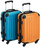 HAUPTSTADTKOFFER  58942092 - Maleta de viaje, 45.0 liters, color Naranja, Azul
