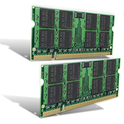 antarris 4 GB 2 x 2 GB Memoria SO-DIMM HP Compaq Business Notebook 6520S 6715B