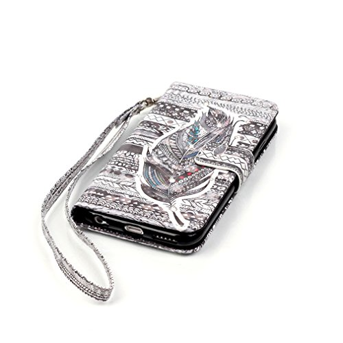 Mk Shop Limited Bling Diamant Etui Housse Apple iPhone 6/6S (4.7 pouces), Slim-Book Portefeuille Coque Case Cover Prime Hybrid PU Cuir Wallet Skin Swag Smartphone Accessories Protection Protecteur D'é Multi-couleur 1