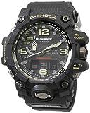 Casio G-Shock Analog-Digital Black Dial Men's Watch - GWG-1000-1ADR(G654)