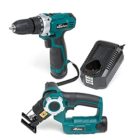 Wolf Sapphire 12v Drill Driver with 1.5Ah Li-ion Battery &