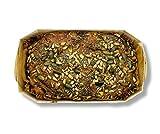 Frisches Bio Roggenvollkornbrot Kasten - 2 x 500g - saftiges Roggenvollkornbrot in einer Brotbackform - verfeinert mit Sonnenblumenkernen, Kürbiskernen, Chia Samen - Backwirtschaft L. & P. Meinel