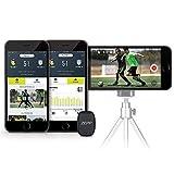 Zepp voetbaltracker 2.0, fitnesstracker voor spelerstatistieken, real-time voetbaltracking voor herkenbare individuele en teamstatistieken, inclusief sensorvolgen en videovisualisering