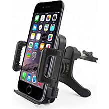 hibote Support Voiture Téléphone Monters & Stands Universel Auto Air Vent Monter Titulaire / Cradle - Compatible with All Smartphones, Air Vent Auto Monter Titulaire for Apple iPhone 6/6Plus/5S/5C/5/4S/4- Samsung Galaxy S3, S4, S5,Samsung Galaxy Note 4/3/2 - LG, G2 - Motorola Moto X Droid HTC One, Nexus 5