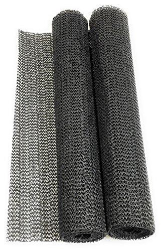 versandfuxx24 2X Anti-Rutschmatte dunkelgrau 30 x 150 cm, zuschneidbar für Camping, Auto, Boot, Teppich