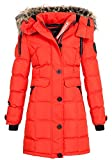 Geographical Norway Damen Jacke Steppmantel Cala red S