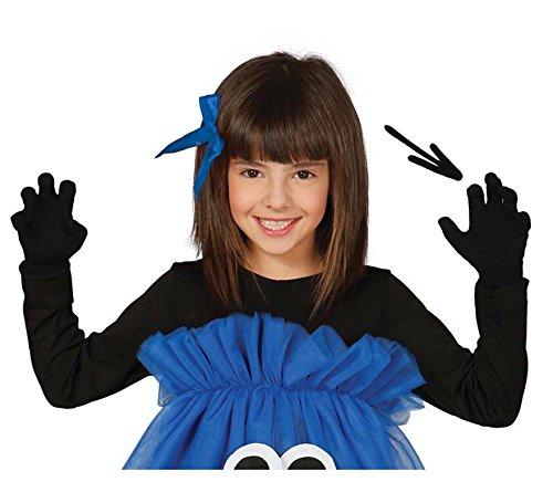 542 - Schwarze Kinder-Handschuhe, 22 cm ()