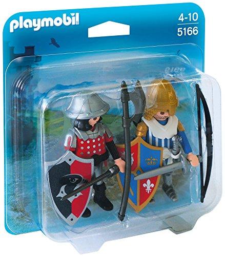 Preisvergleich Produktbild PLAYMOBIL 5166 - Duo Pack Ritter