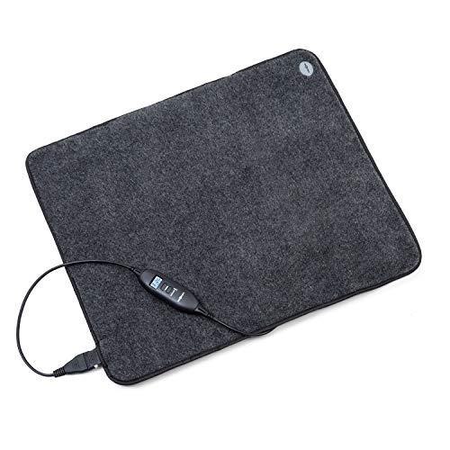 Oneconcept Magic Carpet DLX Alfombra eléctrica - 60 x 70 cm, 190 W de Potencia, 4 Niveles de Temperatura...