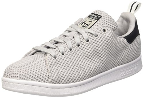 adidas Stan Smith Ck, Scarpe da Ginnastica Basse Uomo, Grigio (Light Solid Grey/Light Solid Grey/Core Black), 44 EU