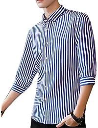 mezza Amazon manica uomo Camicie casual a it camicia Camicie gwg1qI4