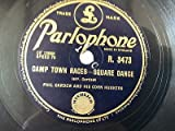 "78 rpm 10"" PHIL CARDEW camp town races / square dance"