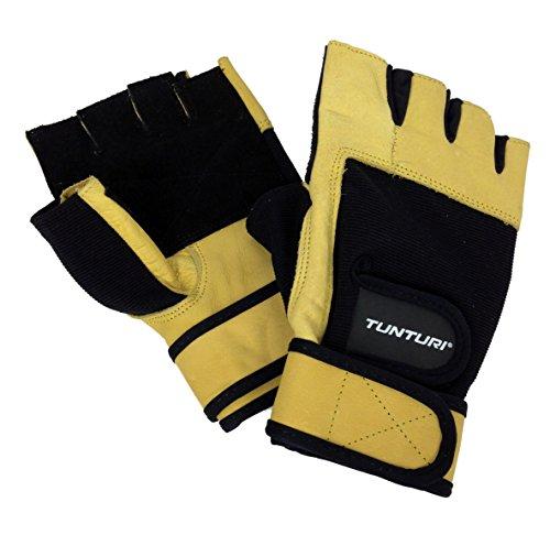 Tunturi Handschuhe Fitness High Impact, Beige/Schwarz, XL, 14TUSFU258