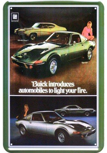 buick-light-your-fire-cars-plaque-de-replique