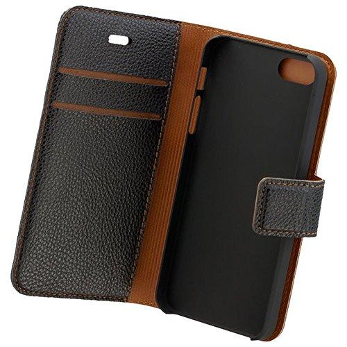 Commander Étui Étui Case Black 2en 1avec Back Cover pour Apple iPhone 5/5S/5Se Produit sous licence + chiffon de nettoyage imobi