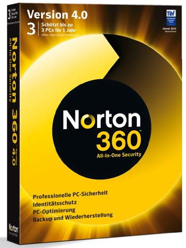 Norton 360 V4.0 3 PC (360 Norton 2 Pc)