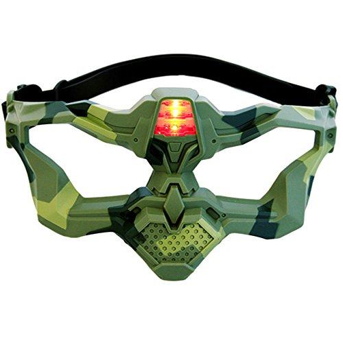 Preisvergleich Produktbild Light Battle Active Laser Tag VIP-Maske,  camo Grün - LBA902