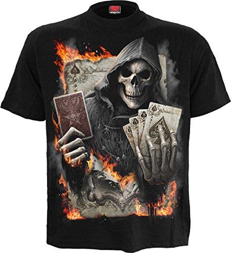 Spiral Ace Reaper T-Shirt Schwarz Schwarz