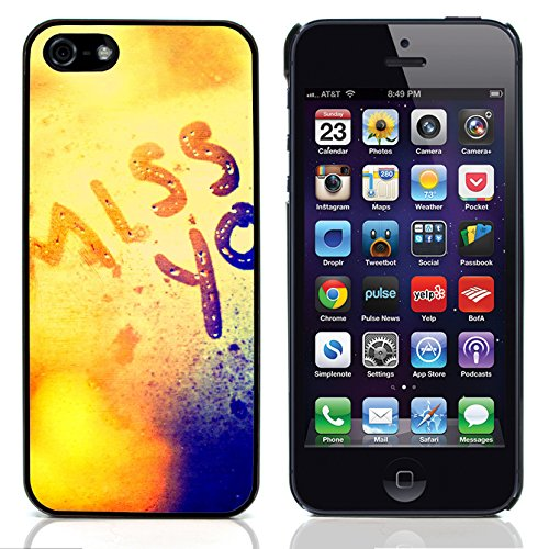 Graphic4You Love Graphic Design Harte Hülle Case Tasche Schutzhülle für Apple iPhone 5 und 5S Design #3
