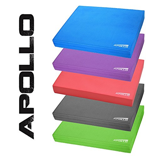 apollo-balance-pad-coordination-mat-24x38x6cm-for-fitness-yoga-and-pilates-in-blue