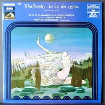 EMI - 2 C 053 00155 - Le Lac des Cygnes - Tchaïkovsky - Yehudi Menuhin - Efrem Kurtz - The Philharmonia Orchestra - (1 Disque Vinyle 33t LP)