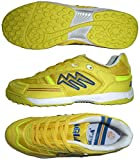 AGLA PROFESSIONAL CONDOR LIGHT OUTDOOR scarpe calcetto futsal con anti-shock (EUR 40, Yellow)