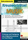 Kreuzworträtsel Musik:...