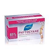 Phyto Phytocyane Trattamento Anti-Caduta in Fiale per capelli da Donna, Ideale per Caduta Occasionale, Stress, Stanchezza, Dieta e Periodo Post-Gravidanza. Formato da 90ml